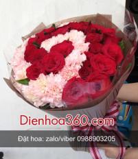 Tặng hoa 20/10 cho mẹ và vợ nên gửi hoa gì?