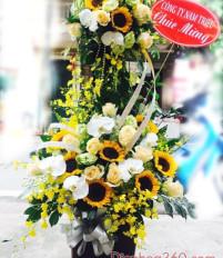 Vì sao tặng hoa sinh nhật lại là màu vàng?