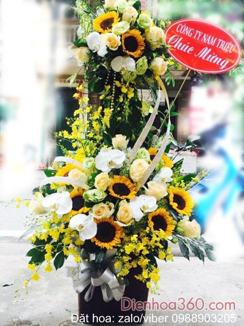 Giỏ hoa tặng sinh nhật | mẫu hoa giỏ đẹp
