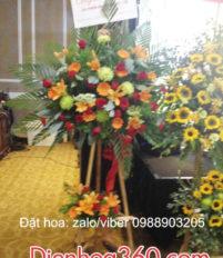 Các mẫu Hoa Chúc mừng kỷ niệm thành lập công ty