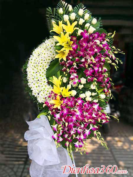 Lãng hoa chia buồn một triệu, hoa đám ma