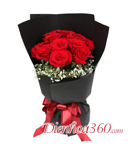 Bó hoa sinh nhật đẹp giá rẻ