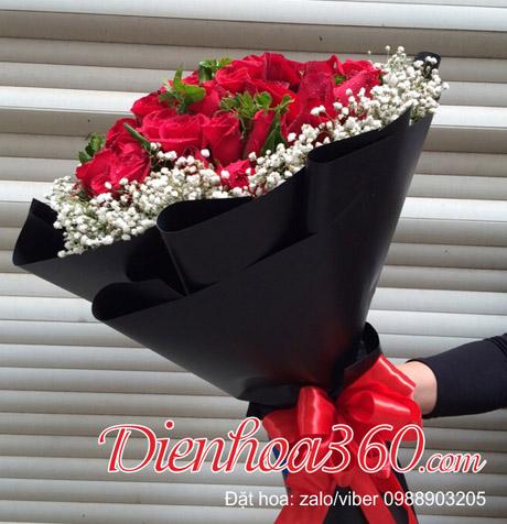 tặng hoa gì valentine