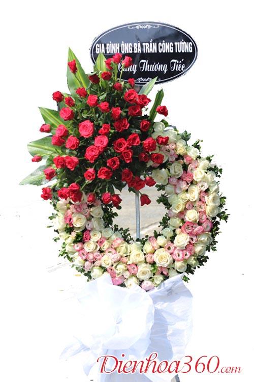 Vòng hoa tang lễ tại Hà Nội và TPHCM