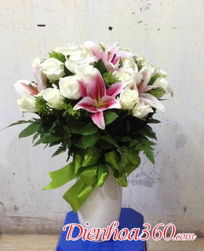 Binh hoa gia re
