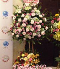 Top 12 mẫu hoa chúc mừng khai trương là hoa hồng
