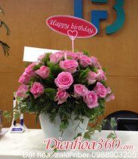 Cách tặng hoa sinh nhật theo độ tuổi