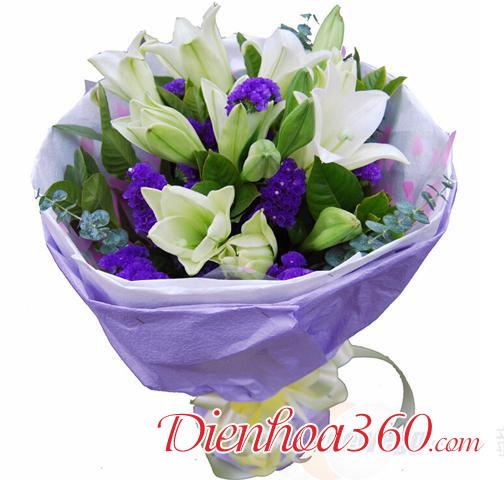 ảnh hoa loa kèn tặng người yêu
