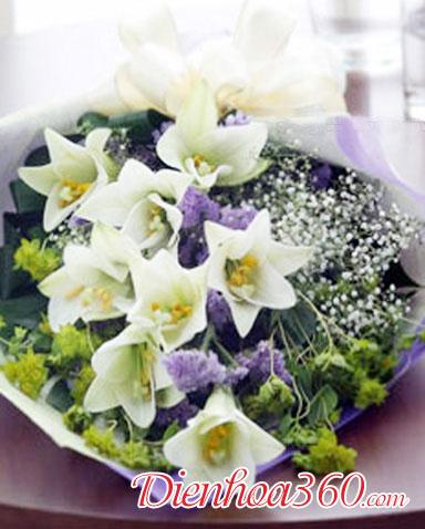 Các loại hoa loa kèn