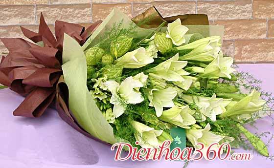 Địa chỉ bán hoa loa kèn hà nội