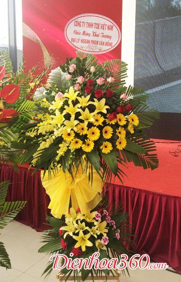 Giỏ hoa mừng khai trương