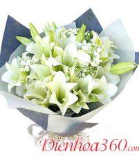 Tổng hợp 25 mẫu hoa loa kèn đẹp nhất tặng sinh nhật