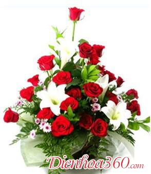 Hoa sinh nhật mẹ, hoa loa kèn