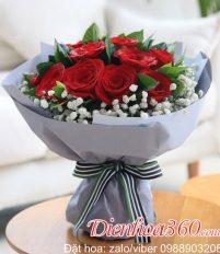 Sinh nhật vợ tặng bao nhiêu bông hồng