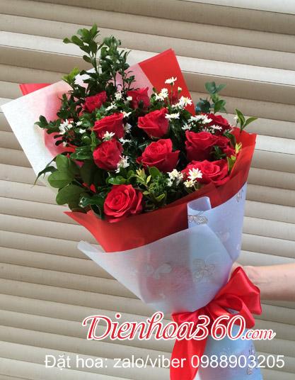 ý nghĩa 11 bông hoa hồng