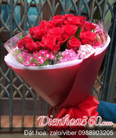 Ý nghĩa tặng 11 bông hoa hồng trong tình yêu