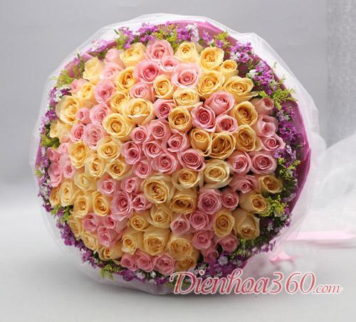 99 bông hồng đẹp