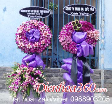 Vòng hoa tang lễ HCM
