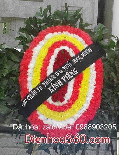 đặt vòng hoa nhà tang lễ cầu giấy