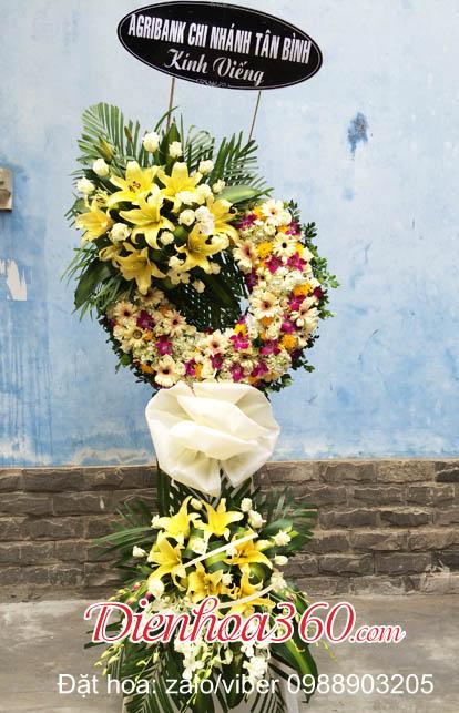 đặt vòng hoa tang lễ quận cầu giấy