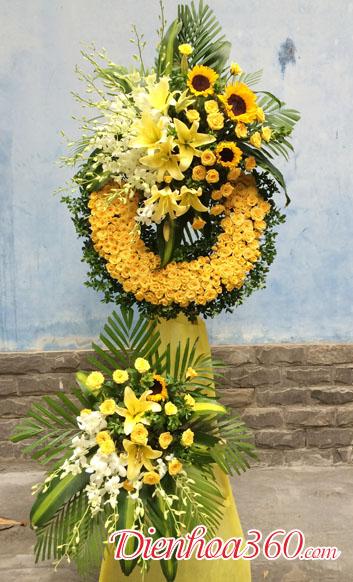 hoa chia buồn nhà tang lễ mai dịch cầu giấy