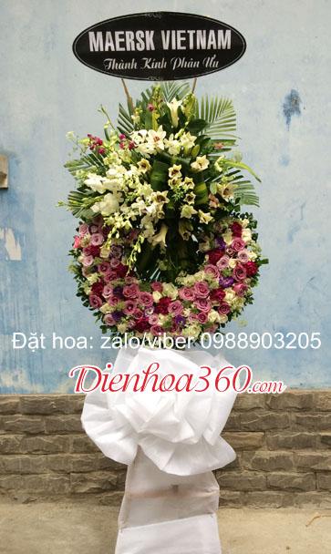 hoa đám tang nhà tang lễ cầu giấy đẹp rẻ