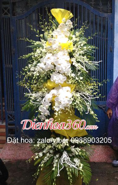 hoa phúng viếng nhà tang lễ cầu giấy hà nội