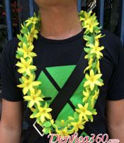 Vòng hoa giả đeo cổ