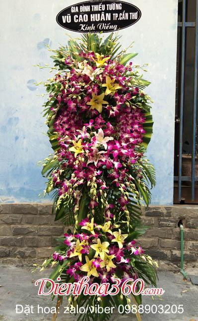 vòng hoa viếng đám ma nhà tang lễ cầu giấy hà nội