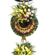 Vòng hoa viếng đám tang đẹp