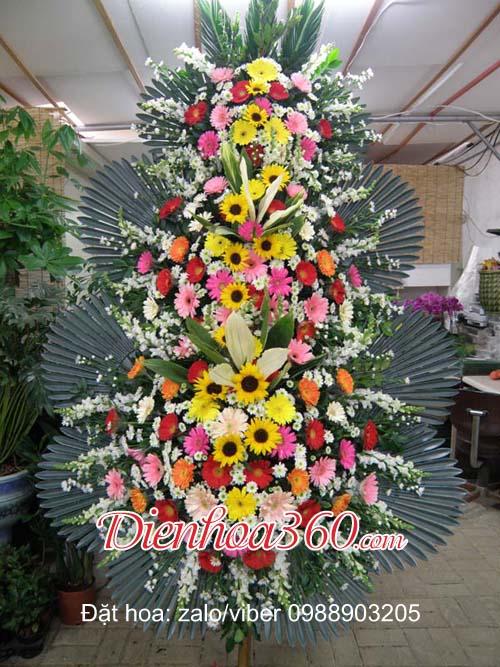 축하3단 flowers