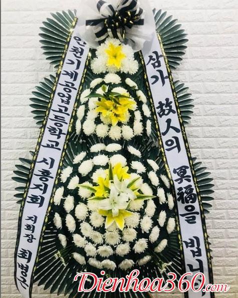 Ảnh hoa chia buồn Hàn Quốc