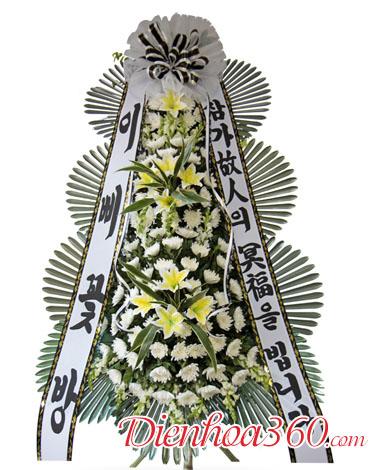 Địa chỉ đặt hoa chia buồn Hàn Quốc