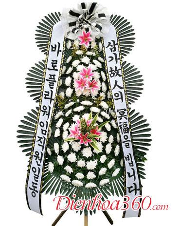 Hoa chia buồn kiểu Hàn Quốc