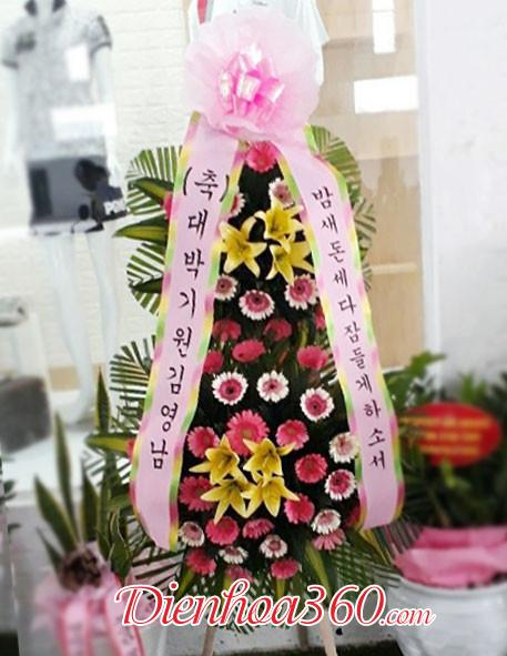 Hoa chúc mừng Hàn Quốc đẹp