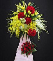 Hoa khai trương đẹp | kệ hoa hồng