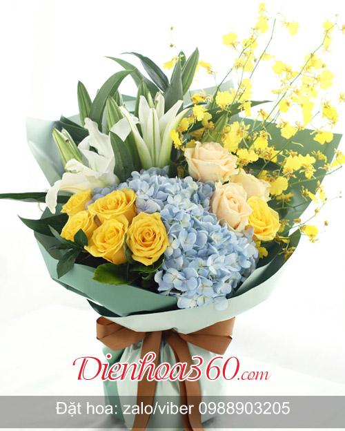 Hoa sinh nhật vợ, shop hoa online