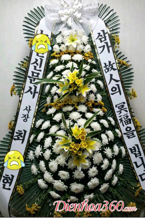 Hoa tươi chia buồn Hàn Quốc