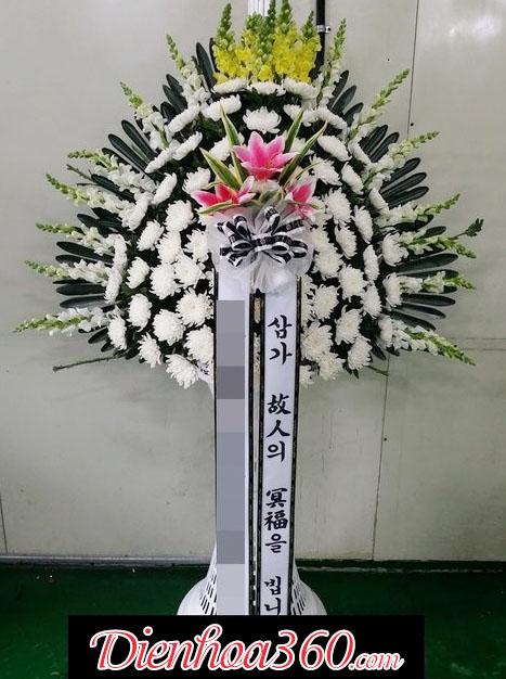 Lãng hoa đám tang Hàn Quốc