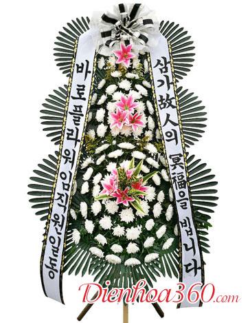 Mẫu hoa chia buồn Hàn Quốc