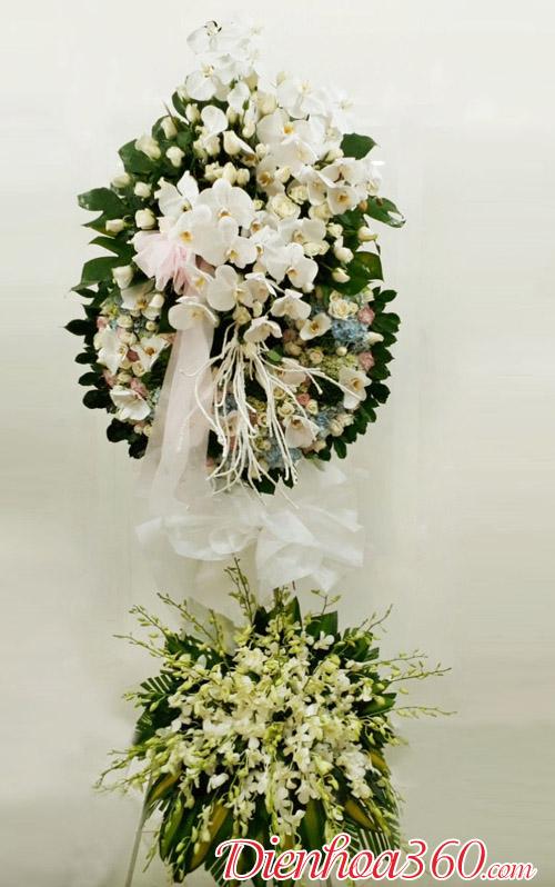 Vòng hoa tang lễ đẹp nhất | hoa phúng viếng
