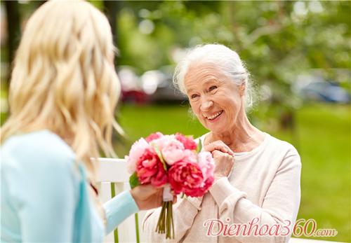 mẫu hoa sinh nhật mẹ, hoa tươi