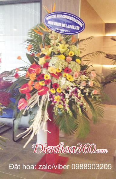 địa chỉ đặt hoa khai giảng cho công ty