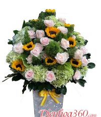 Hoa tặng ngày sinh nhật mẹ là hoa gì?