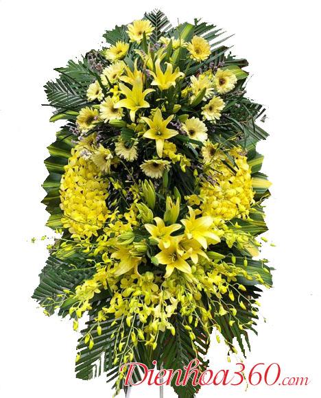 Đặt vòng hoa chia buồn nhà tang lễ