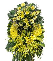 Đặt vòng hoa chia buồn nhà tang lễ số 5 Trần Thánh Tông