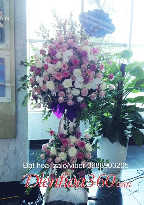 gửi hoa thành lập công ty