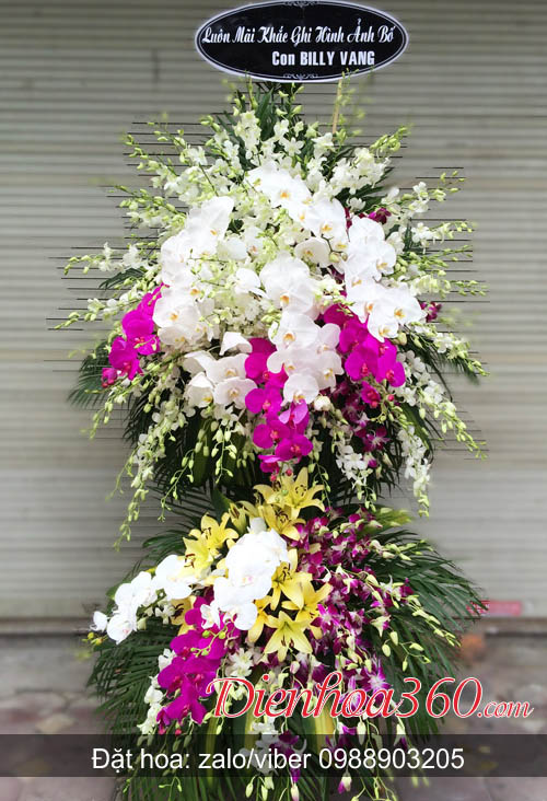 Hoa chia buồn hoa tang lễ đẹp