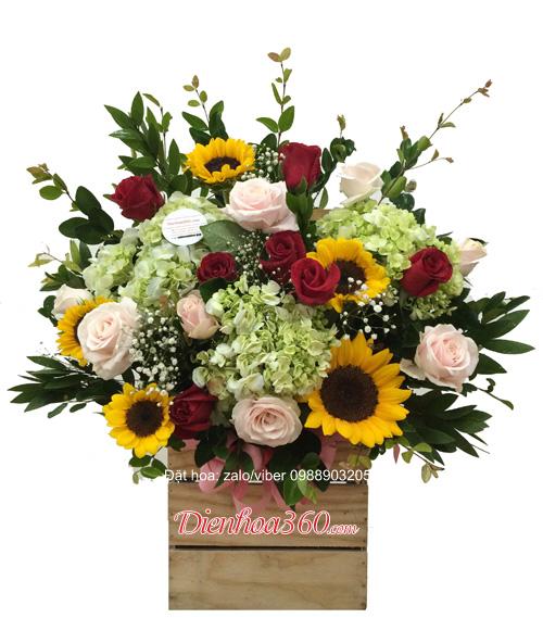 Hoa tặng vợ ngày 20/10 đẹp