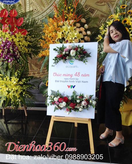 mua hoa tươi mừng thanh lập công ty